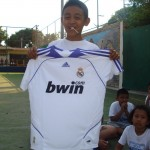Day 4 - Unhappy Barca fan with Real Madrid prize