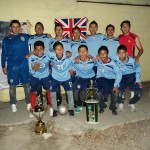 San Jose3 Champions with their trophies